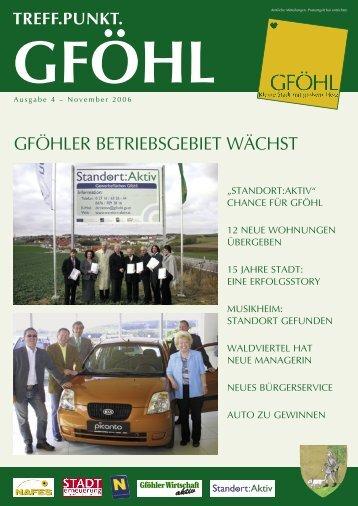 standort:aktiv - Stadtgemeinde Gföhl