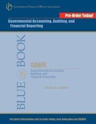 gaafr - Government Finance Officers Association