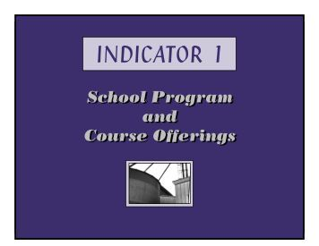 School Program and Course Offerings - Great Falls Public Schools