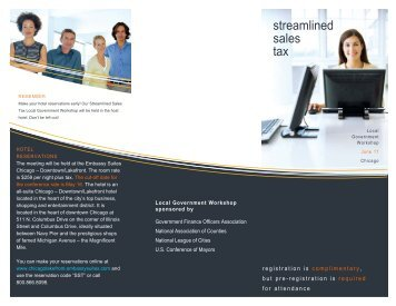 streamlined sales tax - Government Finance Officers Association