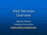 Web Services Overview - Open Grid Forum