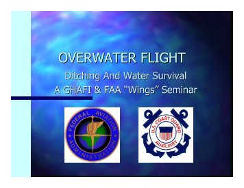 OVERWATER FLIGHT