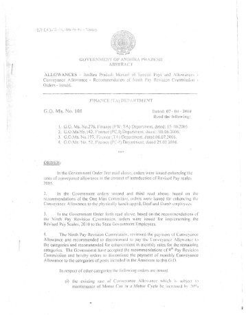 ALLOWANCES - Greater Hyderabad Municipal Corporation