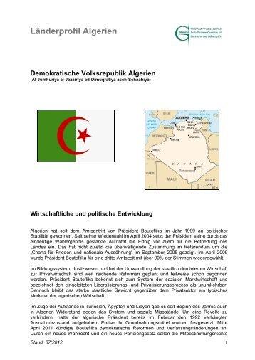 Demokratische Volksrepublik Algerien - Ghorfa