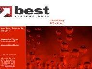 ZFS auf LINUX - best Systeme Gmbh