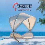 x10101 Giardino Flyer.indd - Gartenmöbel von GIARDINO