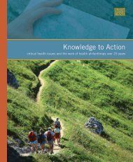 Knowledge to Action - Grantmakers In Health