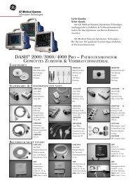DASH® 2000/3000/4000 PRO – geprüftes Zubehör