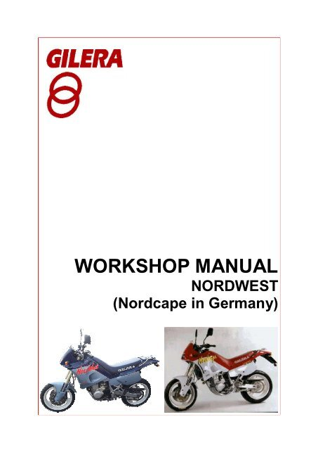 gilera nordwest repair manual