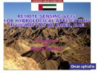 Remote Sensings & GIS For Hydrological Application in Vicinity Of ...