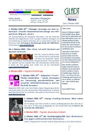 2009-10 GLADT-Newsletter