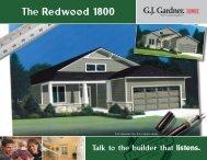 The Redwood 1800 - G.J. Gardner Homes