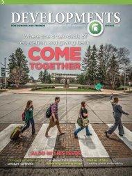 Developments PDF - Giving to MSU - Michigan State University
