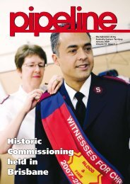 January 2009 - Salvation Army