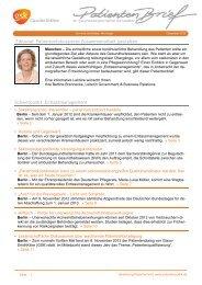 Patientenbrief Dezember 2012 - Patientenpolitik.de