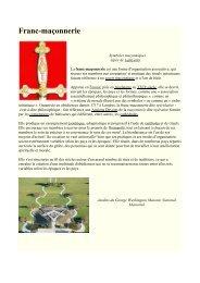 L'histoire De La Franc-Maçonnerie - Grand Lodge Bet-El