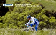 dual suspension quick-start guide version 3.0 - Giant Bicycles