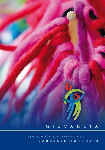 PDF 497KB - Zentrum für Sonderpädagogik Giuvaulta