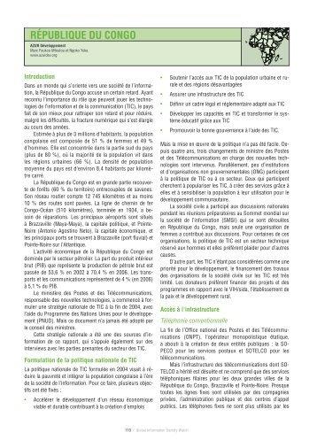 RÉPUBLIQUE DU CONGO - Global Information Society Watch