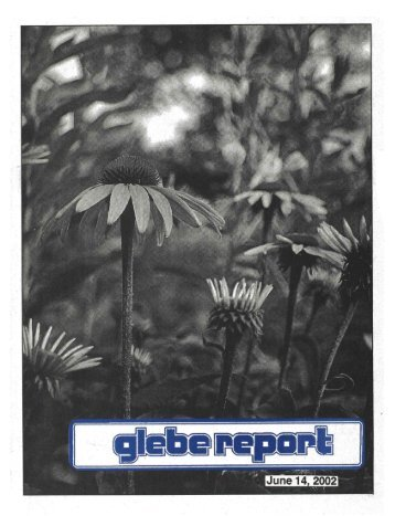 Glebe Report - Volume 32 Number 6- June 14 2002