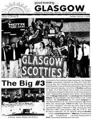 The Big #3 - Glasgow Montana