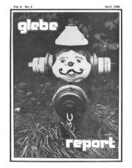 April 08, 1980 - Glebe Report