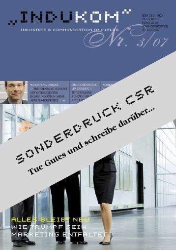 Sonderdruck CSR - blackpoint