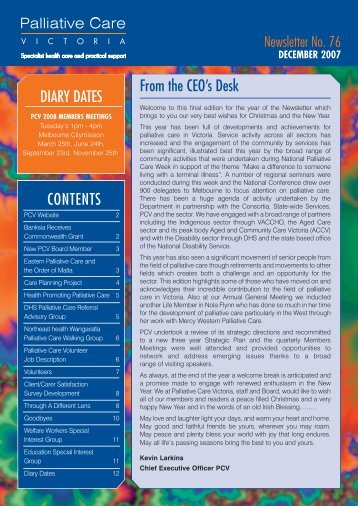 PCV December 2007 Newsletter (1mb, pdf) - GHA Central