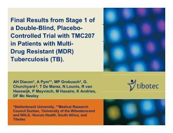Final Results from Stage 1 of a Double-Blind, Placebo ... - GHDonline
