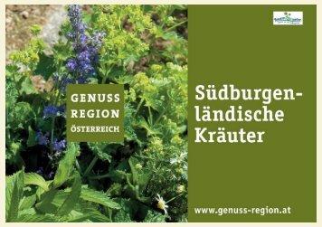 Südburgenländischer Kräuter-Genuss - Die Scheune