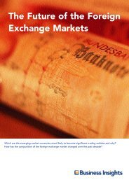 The Future of the Foreign Exchange Markets - Business Insights