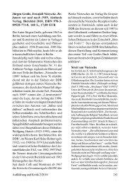 Jürgen Große, Ernstfall Nietzsche. Debatten vor und nach 1989