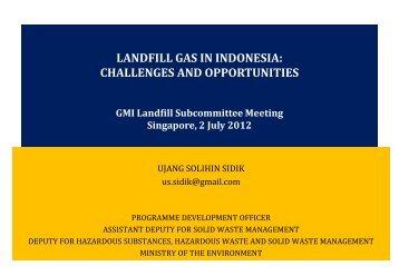 Indonesia - Global Methane Initiative