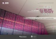 GRI Europe Summit 2013 Official Program Released - Global Real ...