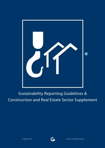 Construction and Real Estate Sector Supplement - Global Reporting ...