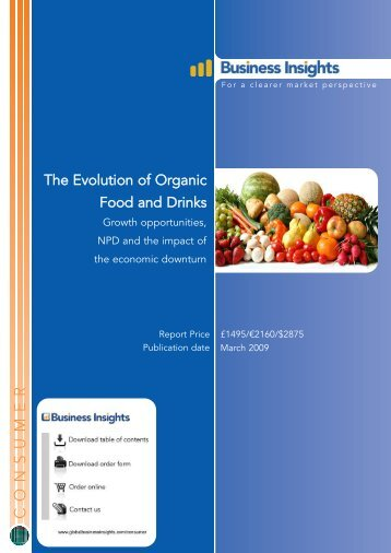 The Evolution of Organic Food and Drinks ... - Business Insights