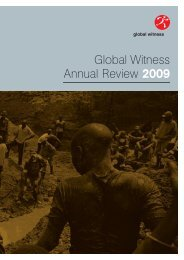 2009 Annual Review - Global Witness