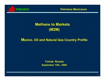 Mexico - Global Methane Initiative