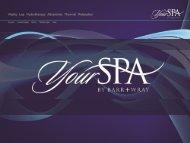 YourSpa Presentation - Global Spa & Wellness Summit