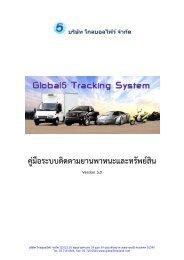 Web Service Manual - โกลบอลไฟว์