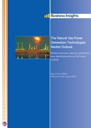 The Natural Gas Power Generation ... - Business Insights