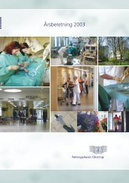 Årsberetning 2003 - Glostrup Hospital