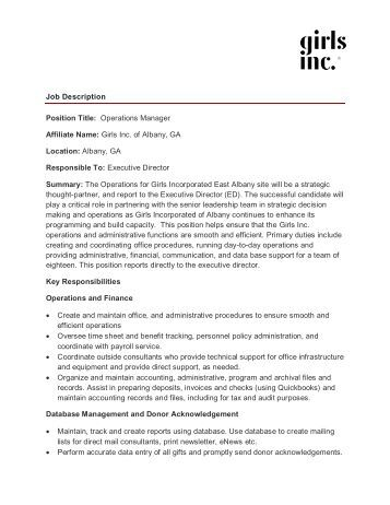 retail operations manager job description sample military