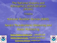 The National Oceanic and Atmospheric Administration - GLPTI