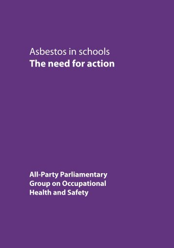 Asbestos in schools The need for action - GMB