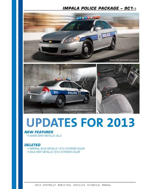 2013 impala technical guide (pdf) gm fleet unmarked chevy impala police car 2008 chevy impala heater control wiring