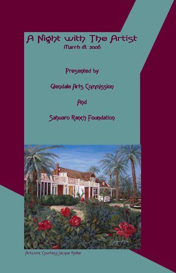 Art Auction Brochure.pub - City of Glendale