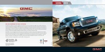 SIERRA 2010 - GM Canada