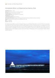 Internationales Messe- und Kongresszentrum Nanning, China - gmp ...