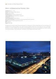 Messe- und Kongresszentrum Shenzhen, China - gmp Architekten ...